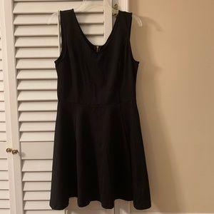 Cynthia Rocket - Sleeveless black skater dress